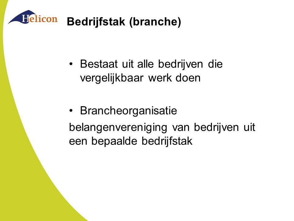 Bedrijfstak (branche)