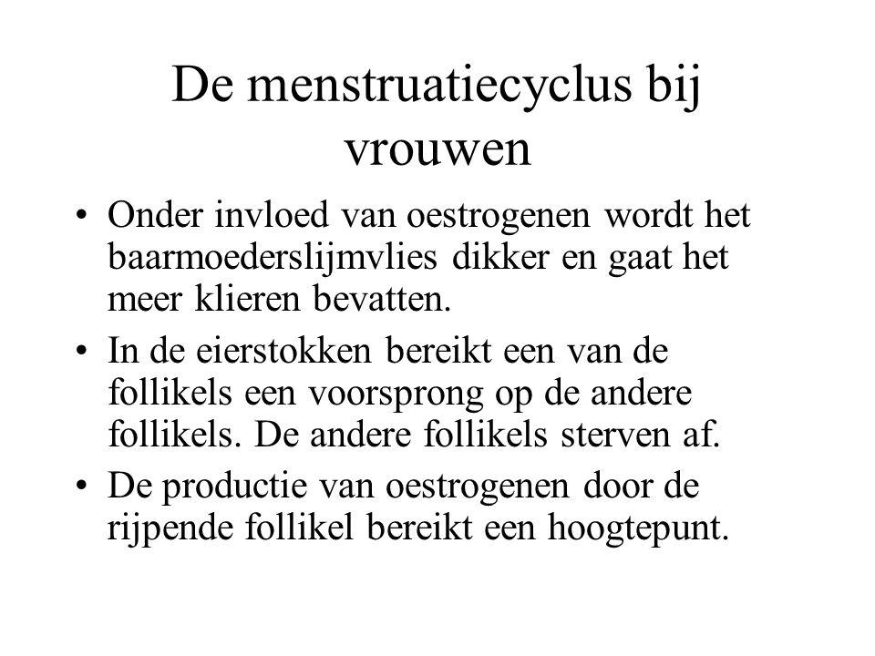 De menstruatiecyclus bij vrouwen