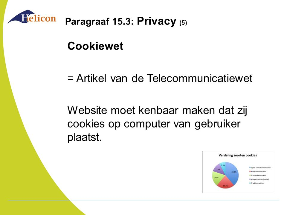 Paragraaf 15.3: Privacy (5)