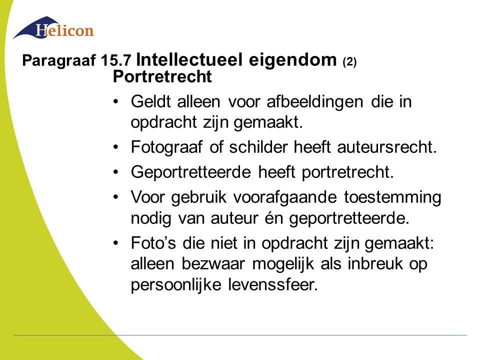 Paragraaf 15.7 Intellectueel eigendom (2)