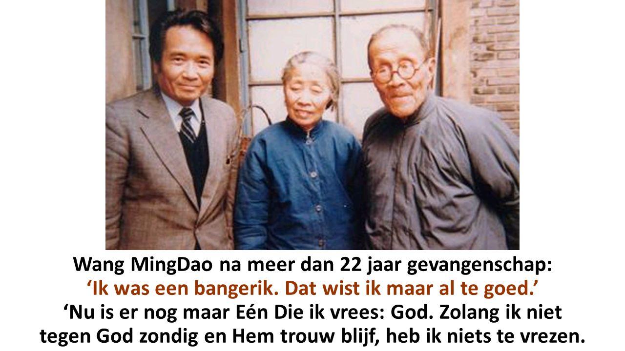 Wang MingDao na meer dan 22 jaar gevangenschap: 'Ik was een bangerik
