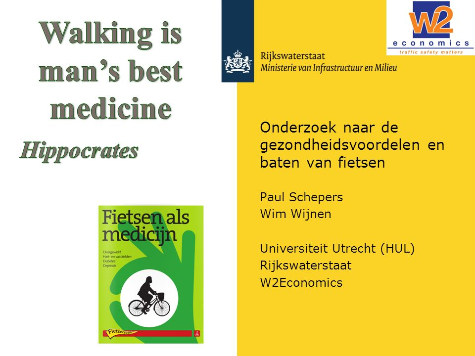 Onderzoek naar de gezondheidsvoordelen en baten van fietsen