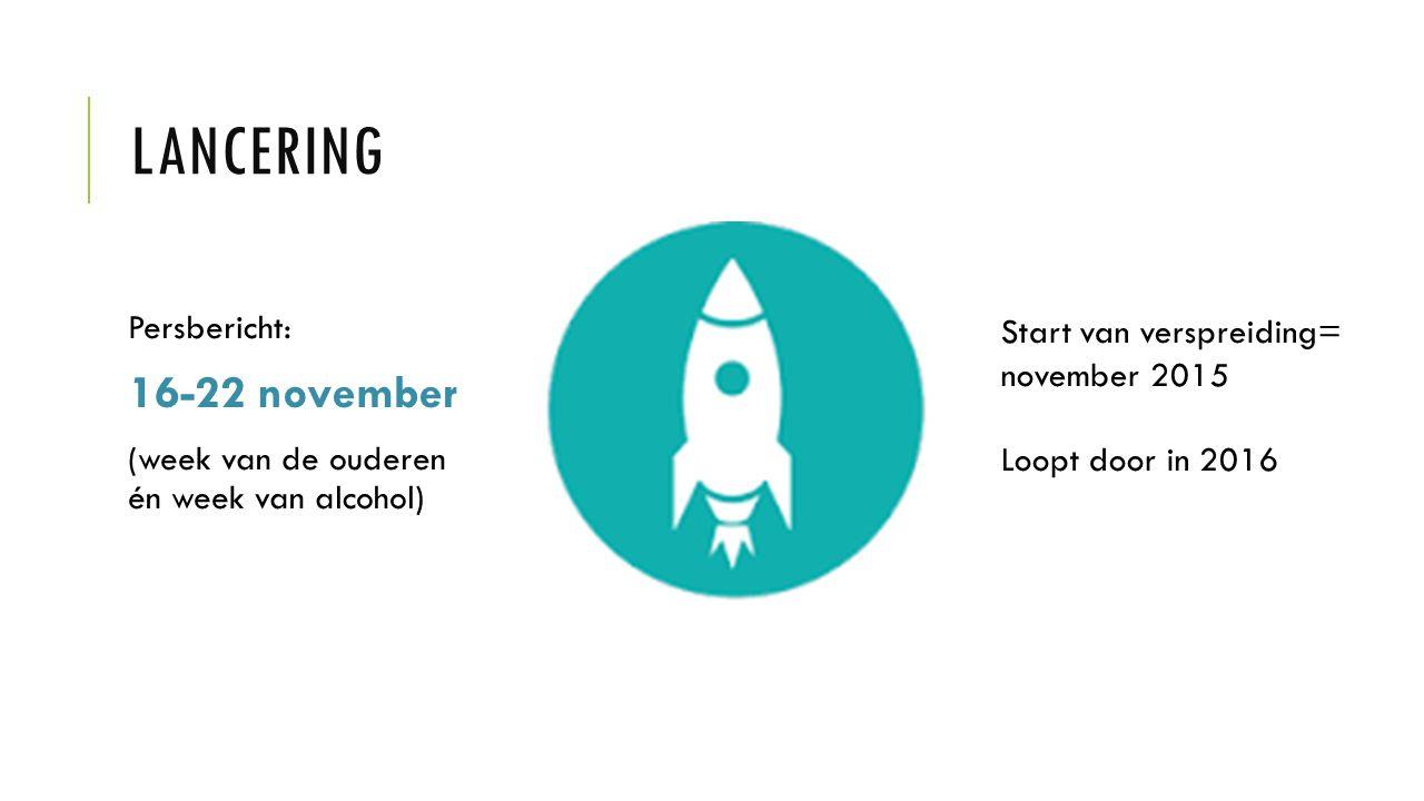 Lancering 16-22 november Persbericht:
