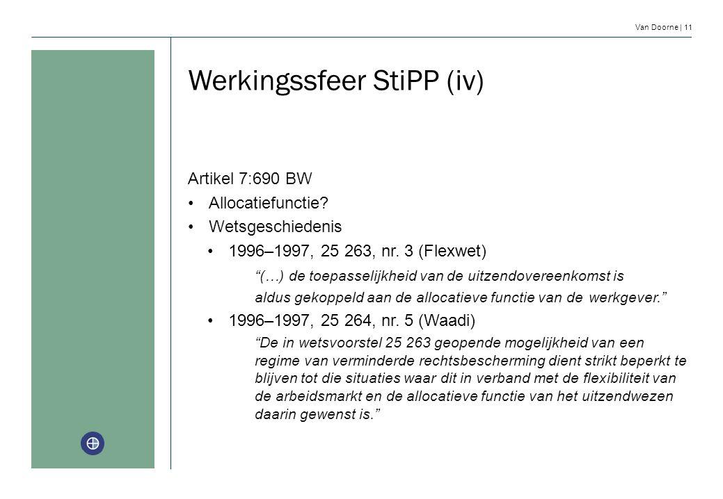 Werkingssfeer StiPP (iv)