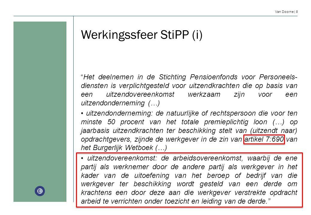 Werkingssfeer StiPP (i)