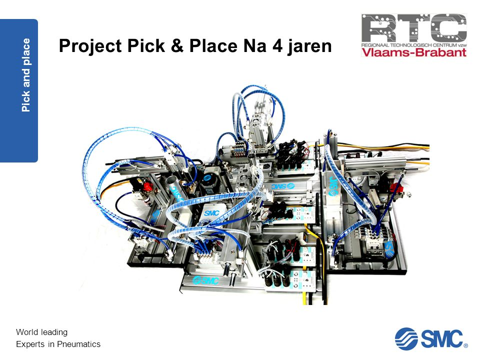 Project Pick & Place Na 4 jaren
