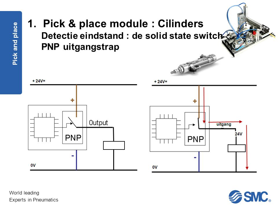 Pick & place module : Cilinders