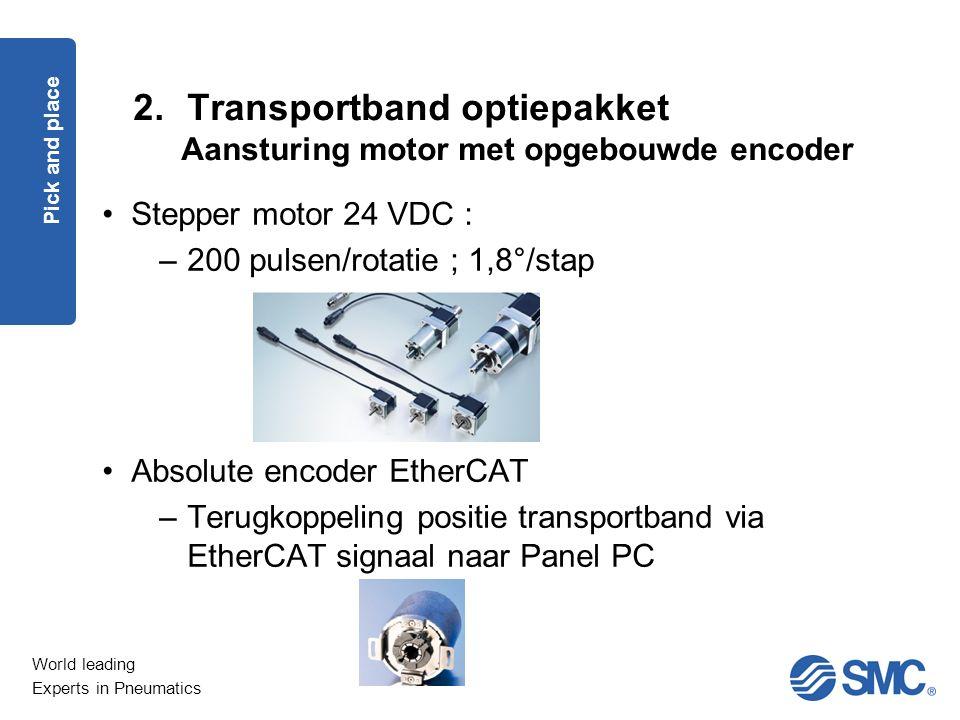 Transportband optiepakket