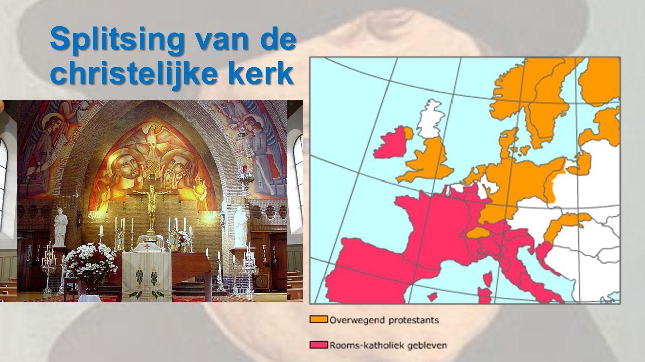 Splitsing van de christelijke kerk