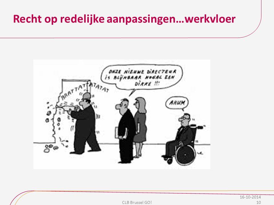 Recht op redelijke aanpassingen…werkvloer