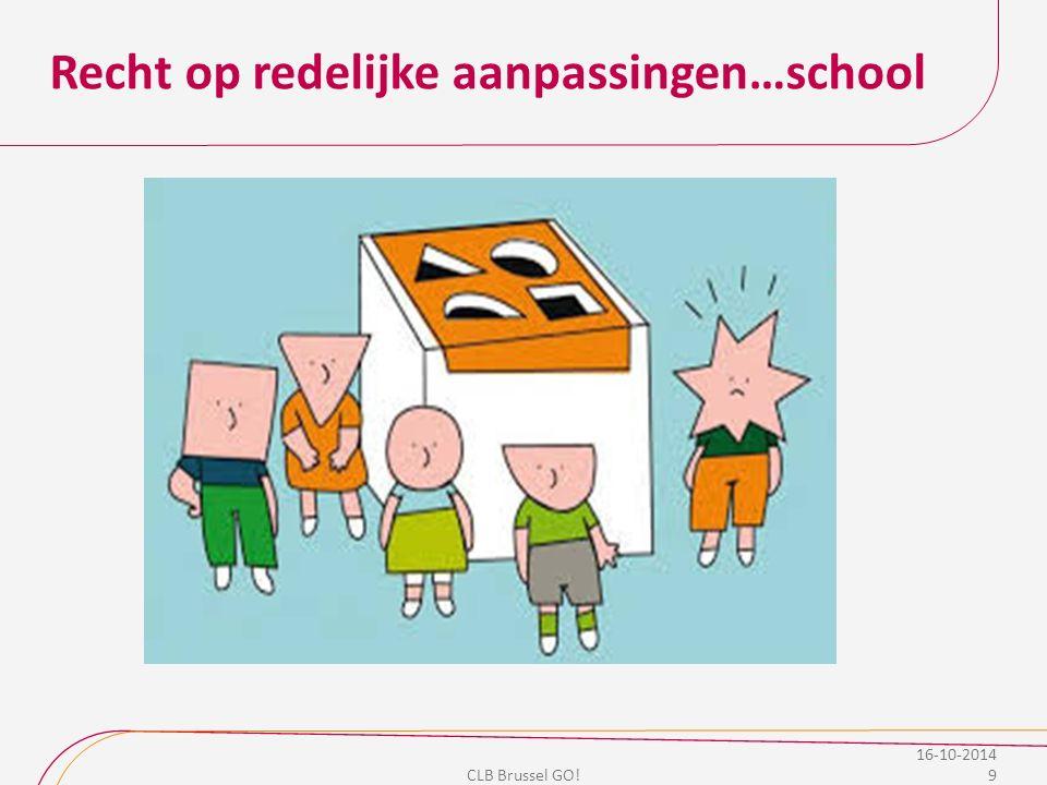 Recht op redelijke aanpassingen…school