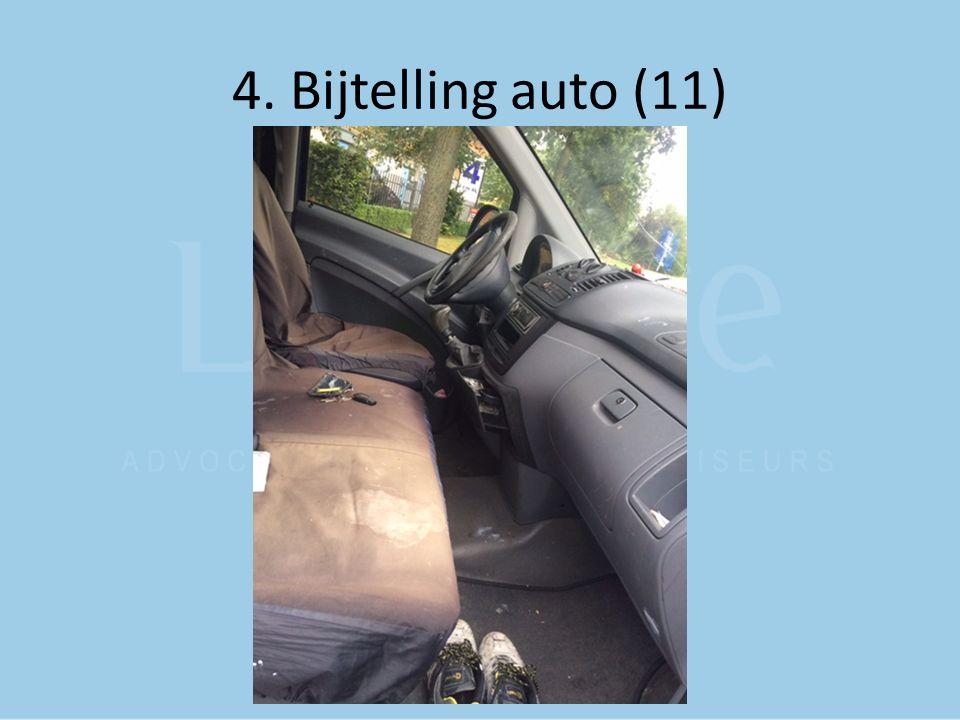 4. Bijtelling auto (11)