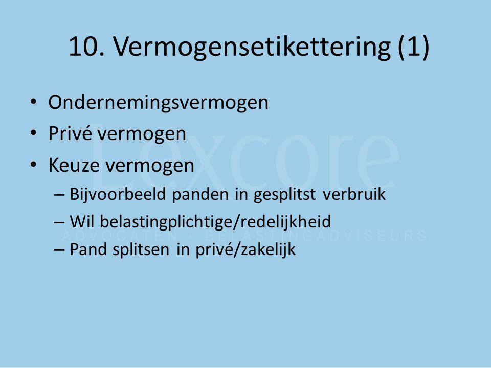 10. Vermogensetikettering (1)