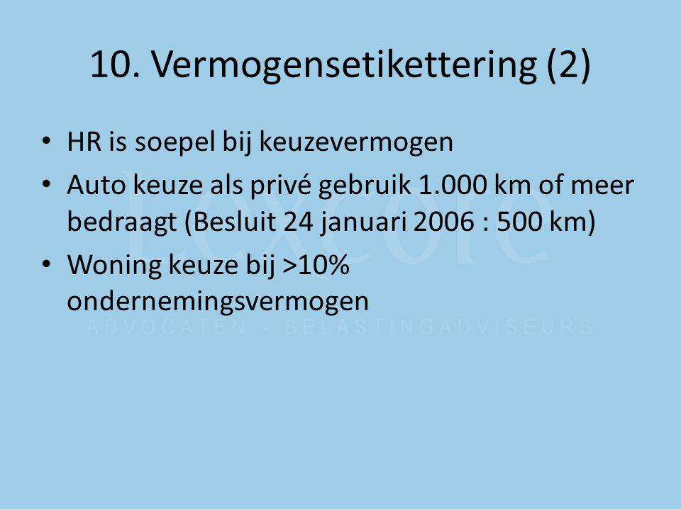 10. Vermogensetikettering (2)