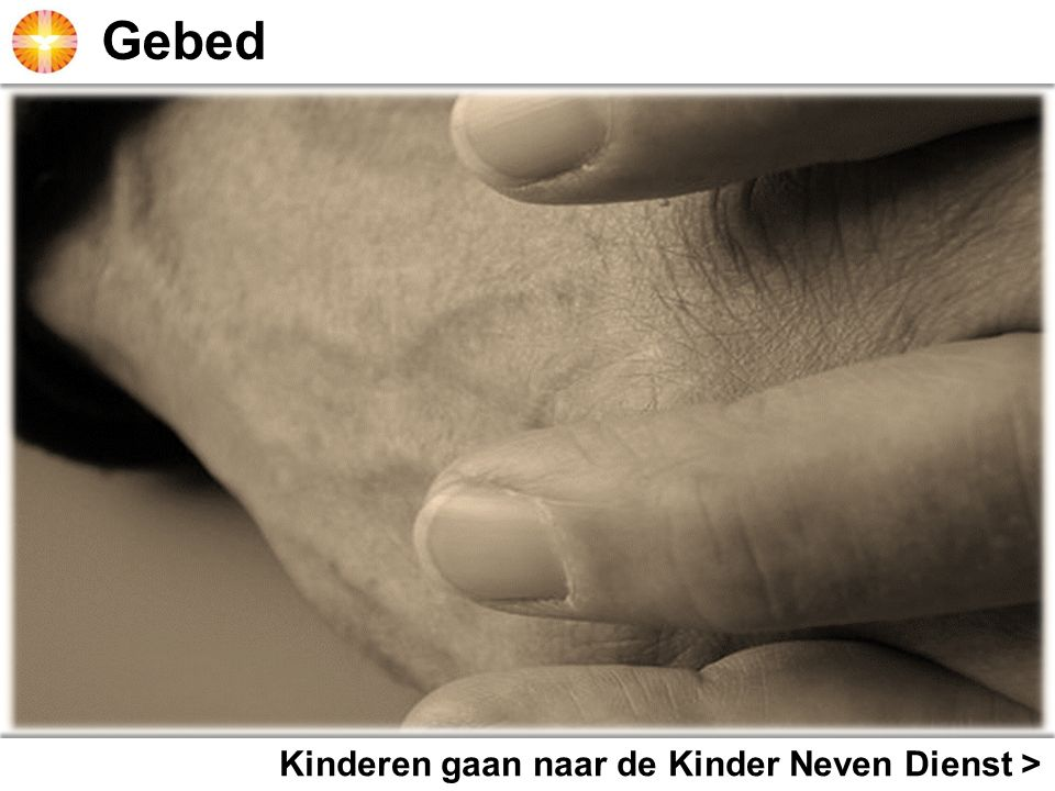 Gebed Kinderkoor zingt >