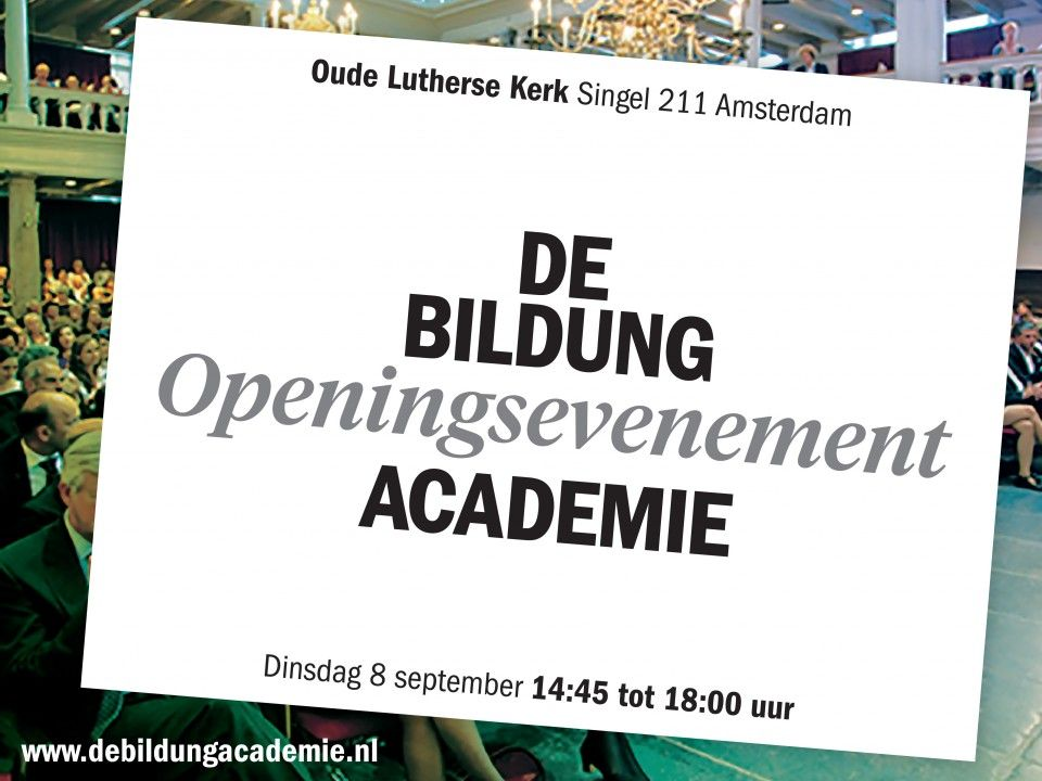 Geopend 8 september