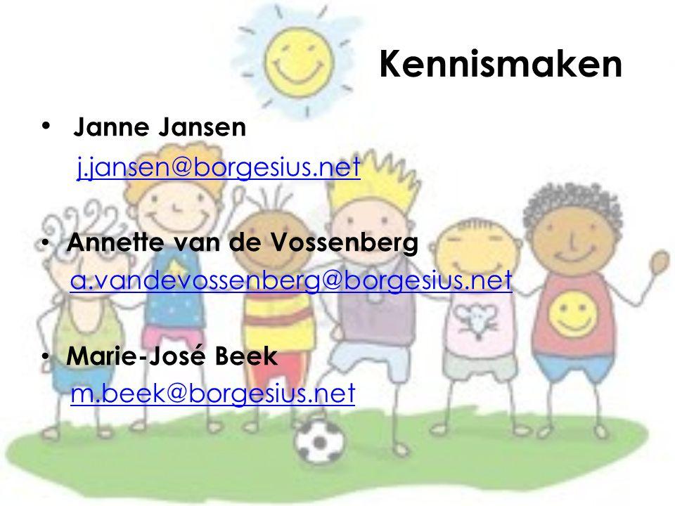 Kennismaken Janne Jansen j.jansen@borgesius.net