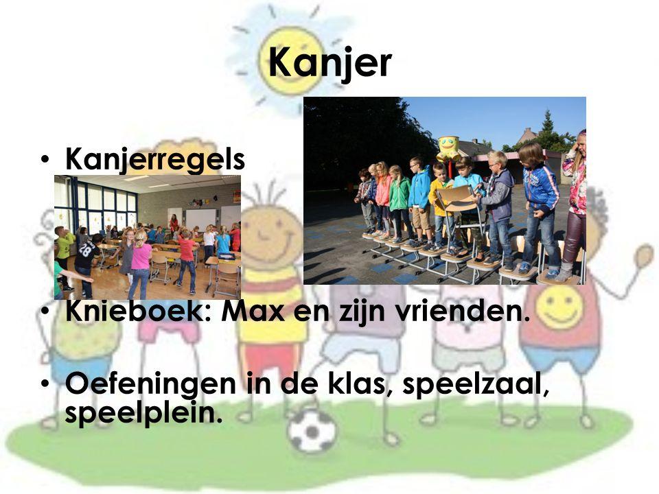 Kanjer Kanjerregels Knieboek: Max en zijn vrienden.