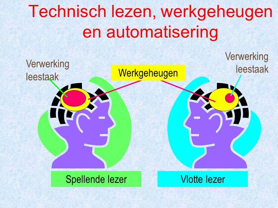 Technisch lezen, werkgeheugen en automatisering