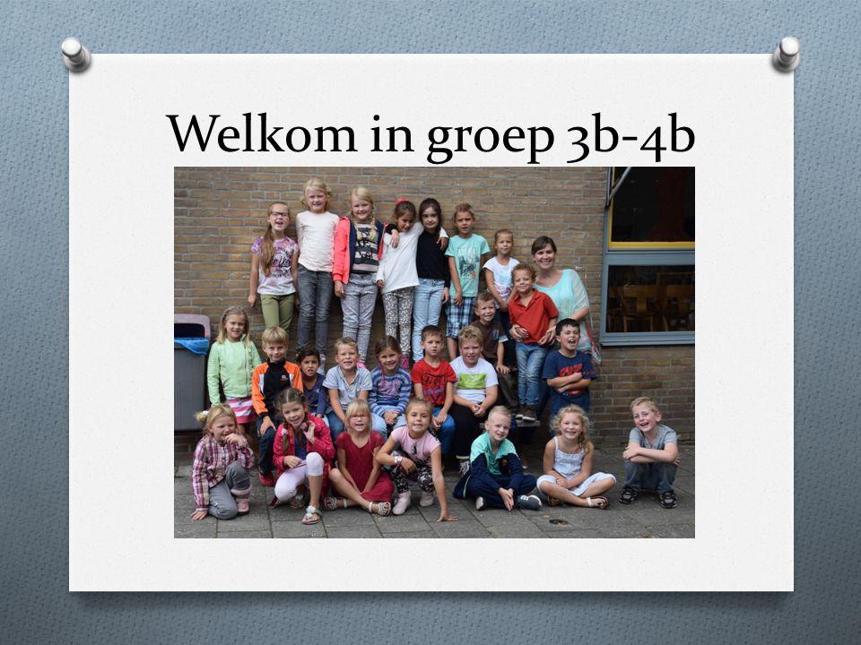 Welkom in groep 3b-4b