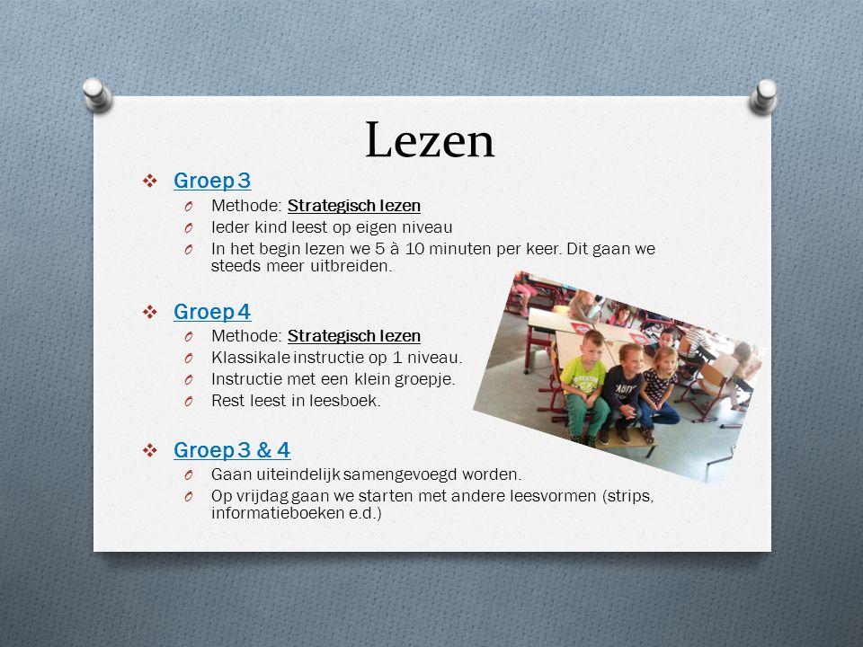 Lezen Groep 3 Groep 4 Groep 3 & 4 Methode: Strategisch lezen
