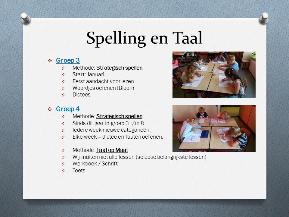 Spelling en Taal Groep 3 Groep 4 Methode: Strategisch spellen