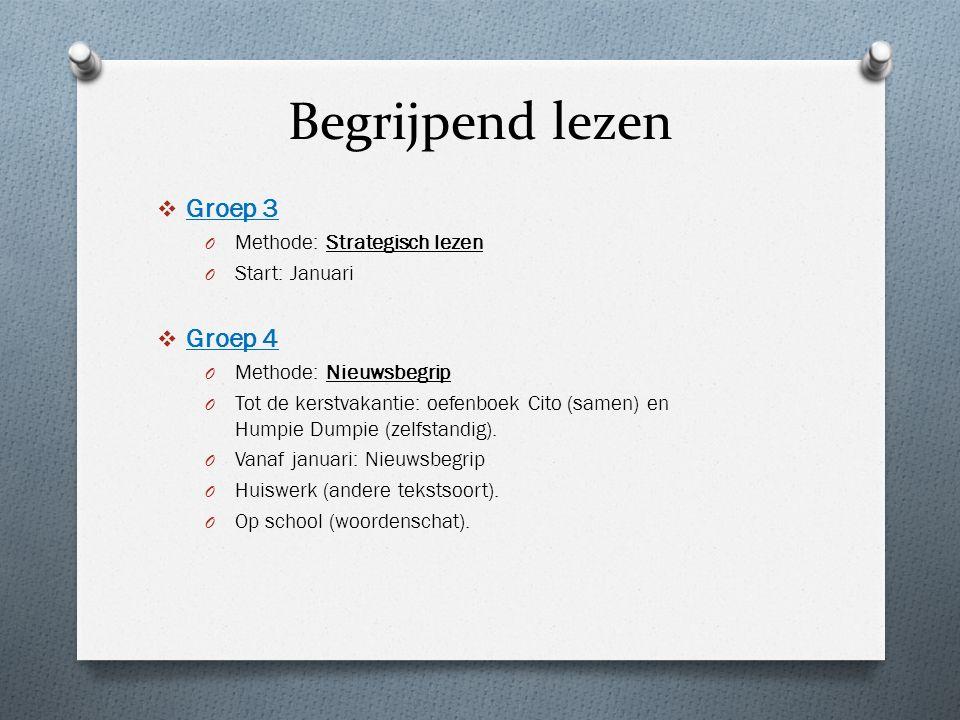 Begrijpend lezen Groep 3 Groep 4 Methode: Strategisch lezen