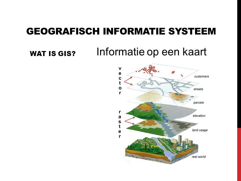 Geografisch Informatie Systeem