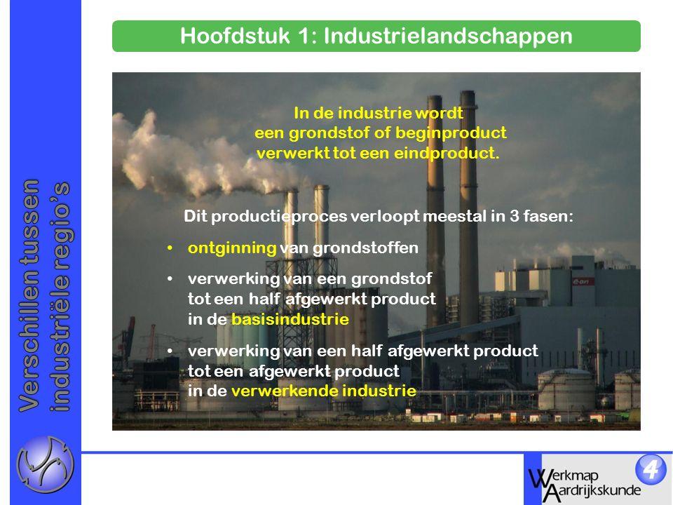 Verschillen tussen industriële regio's