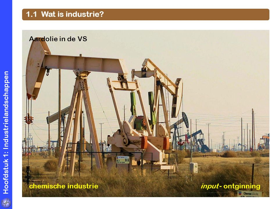 1.1 Wat is industrie Aardolie in de VS