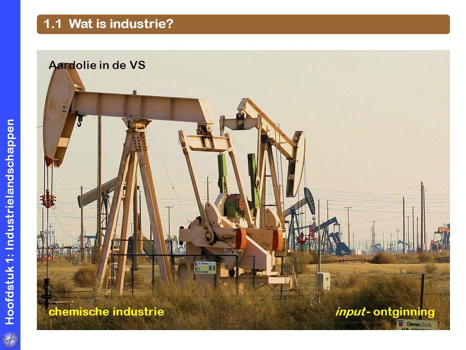 1.1 Wat is industrie Aardolie in de VS