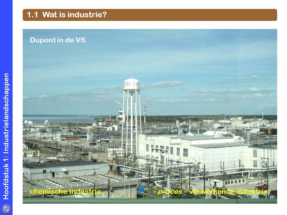 1.1 Wat is industrie Dupont in de VS