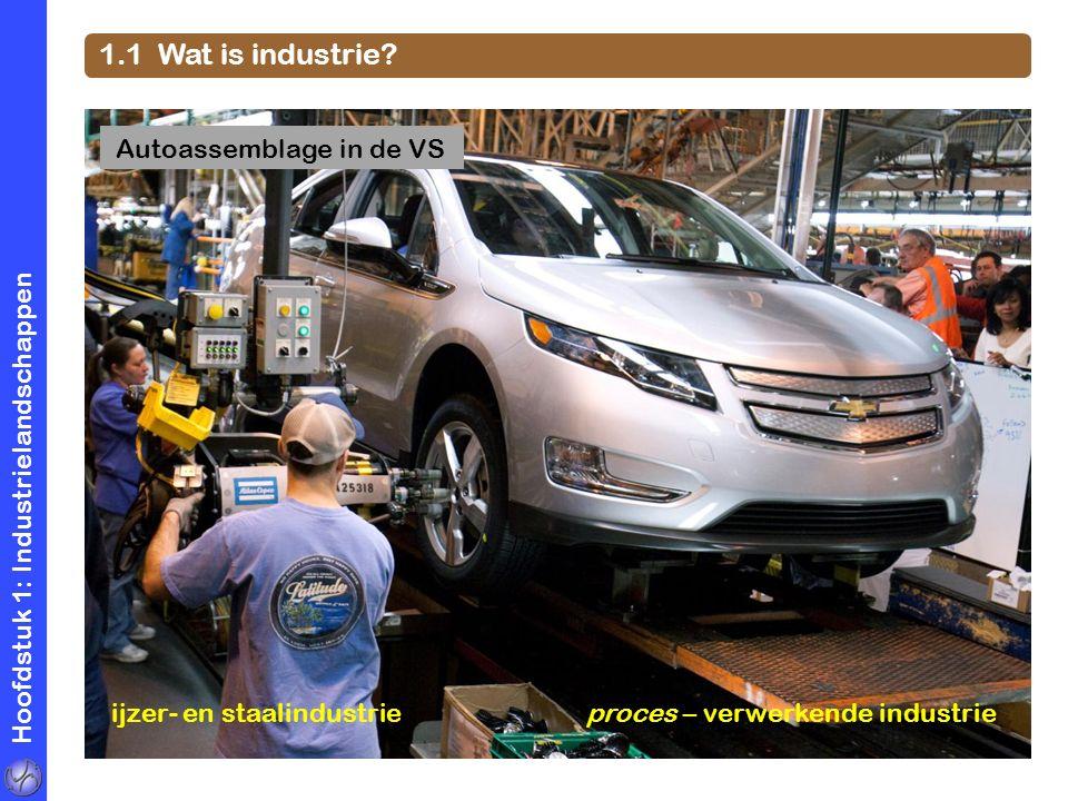 1.1 Wat is industrie Autoassemblage in de VS