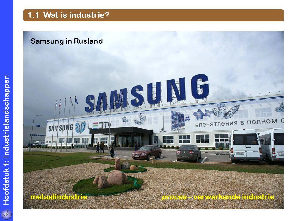 1.1 Wat is industrie Samsung in Rusland