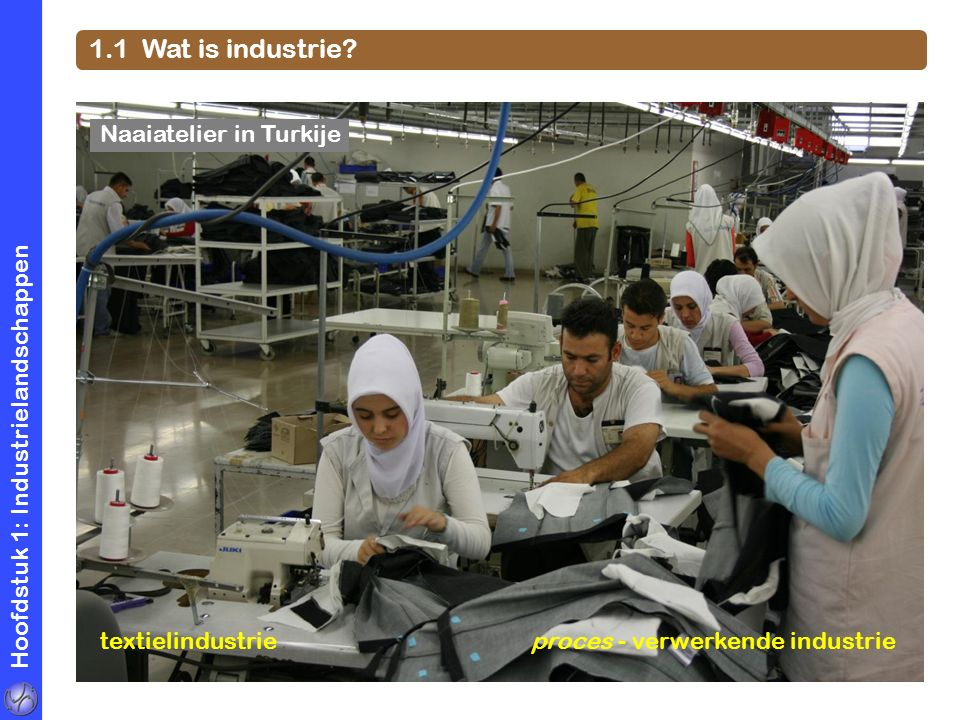 1.1 Wat is industrie Naaiatelier in Turkije