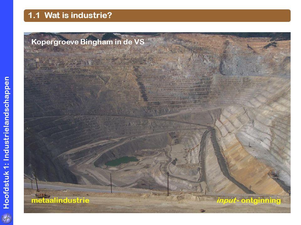 1.1 Wat is industrie Kopergroeve Bingham in de VS