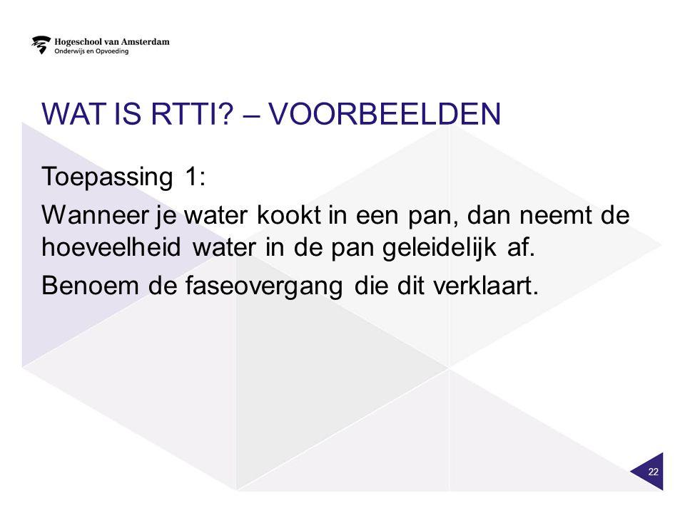 Wat is RTTI – Voorbeelden