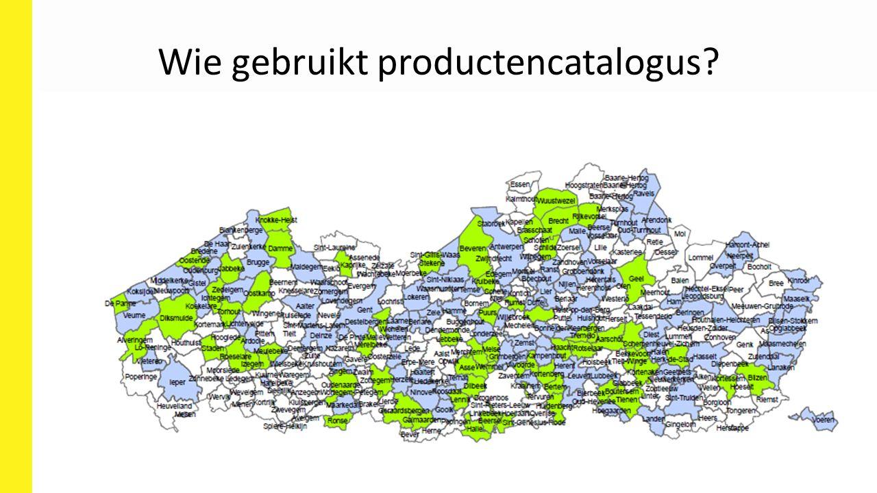 Wie gebruikt productencatalogus