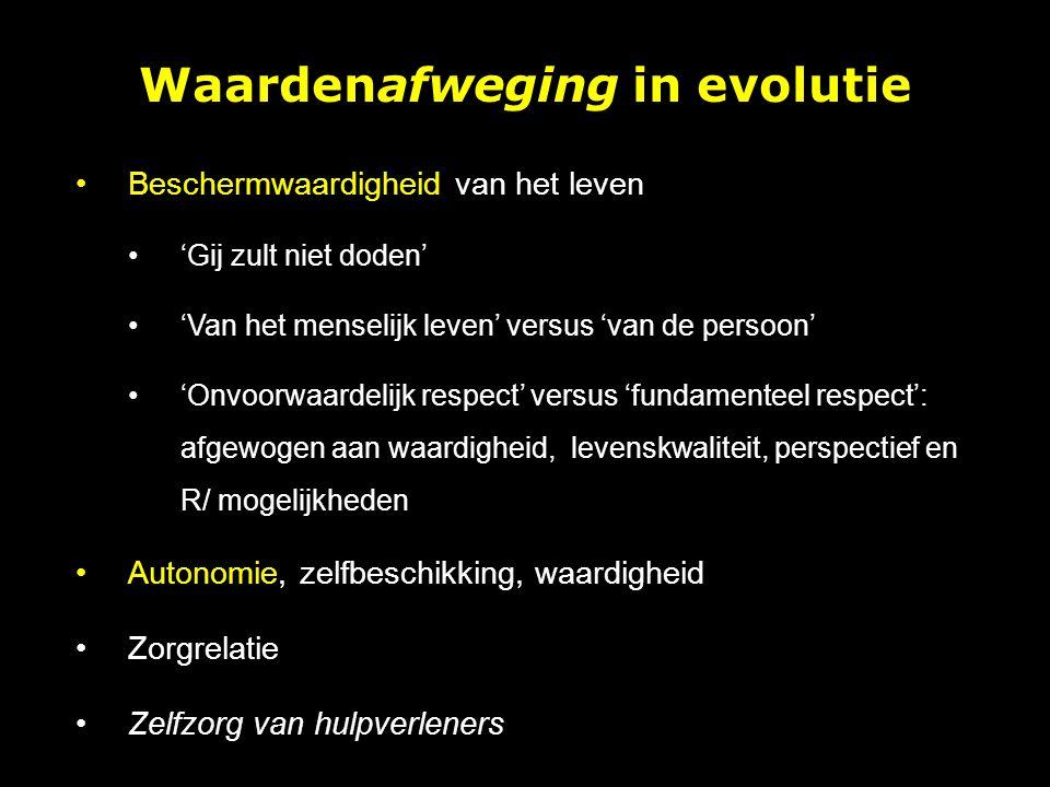 Waardenafweging in evolutie