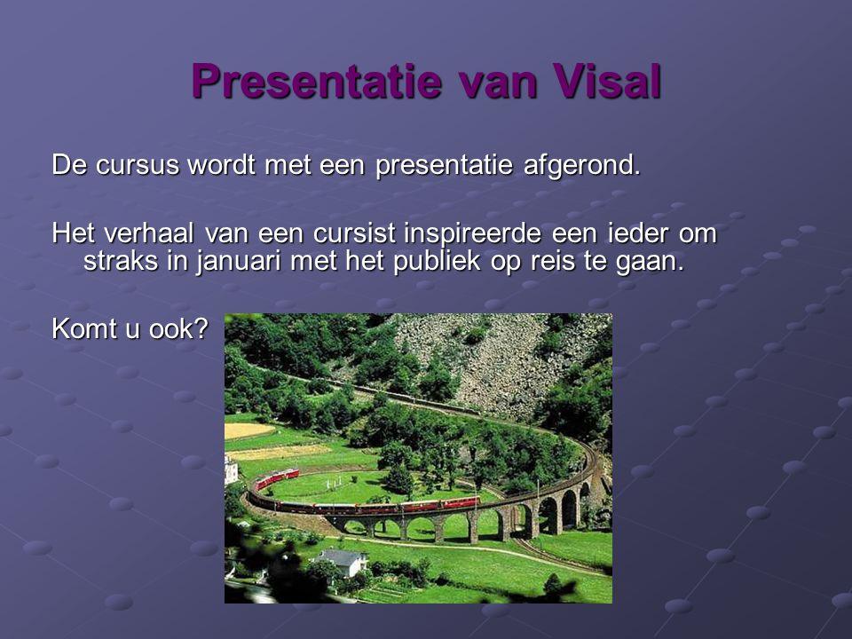 Presentatie van Visal