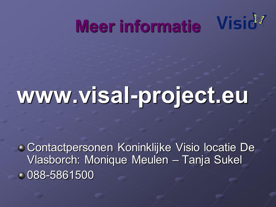 www.visal-project.eu Meer informatie
