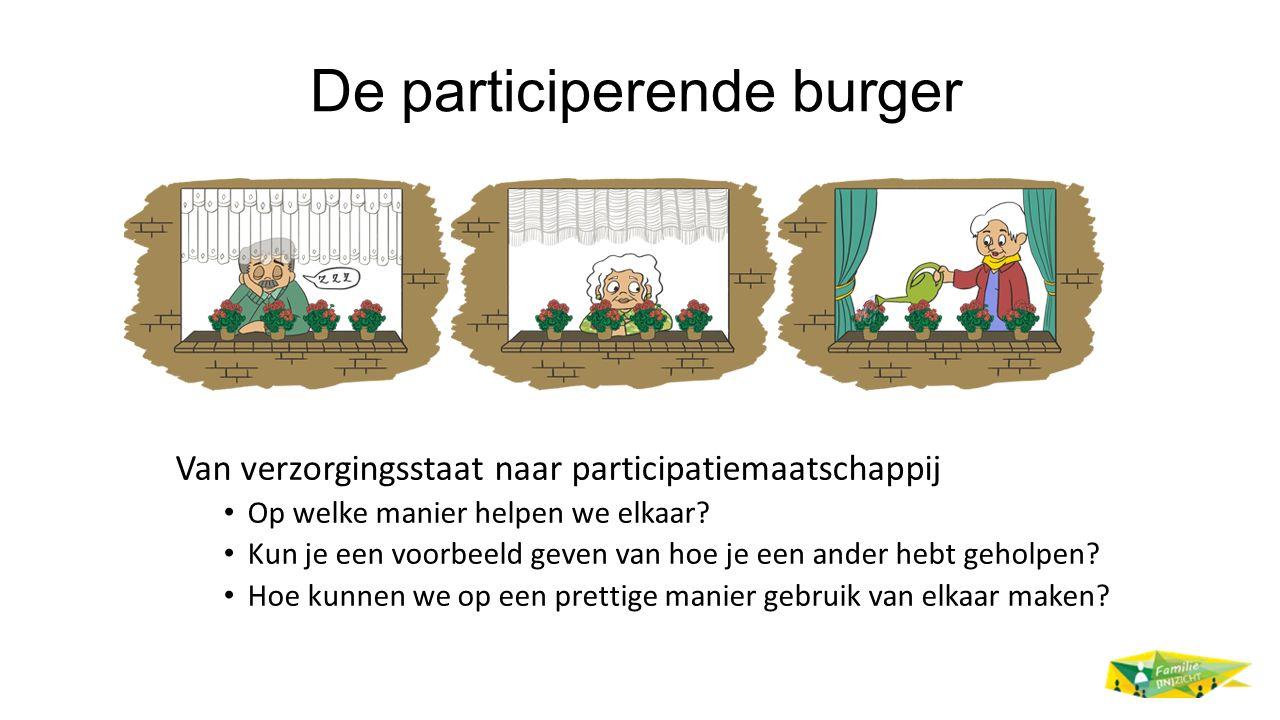 De participerende burger