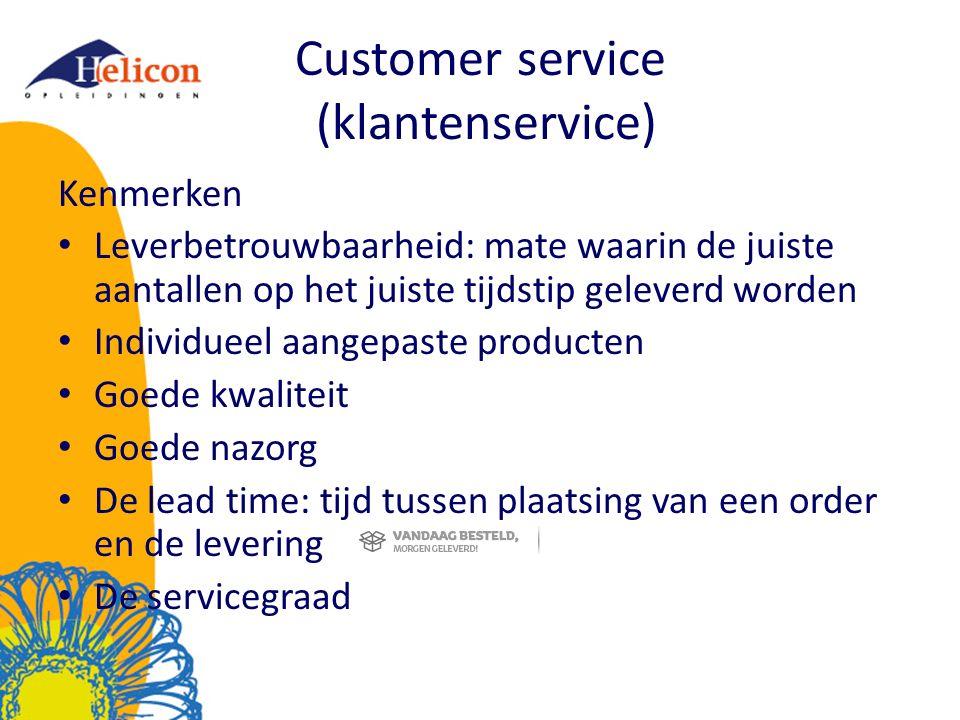 Customer service (klantenservice)