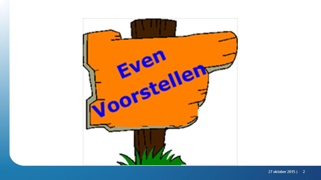 5 minuten welkom, voorstellen en inleiding (Nicole en Willem Jan)