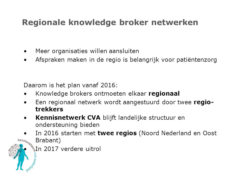 Regionale knowledge broker netwerken
