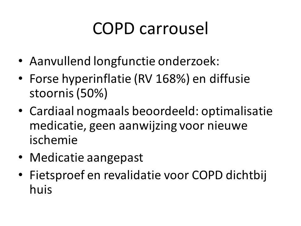 COPD carrousel Aanvullend longfunctie onderzoek: