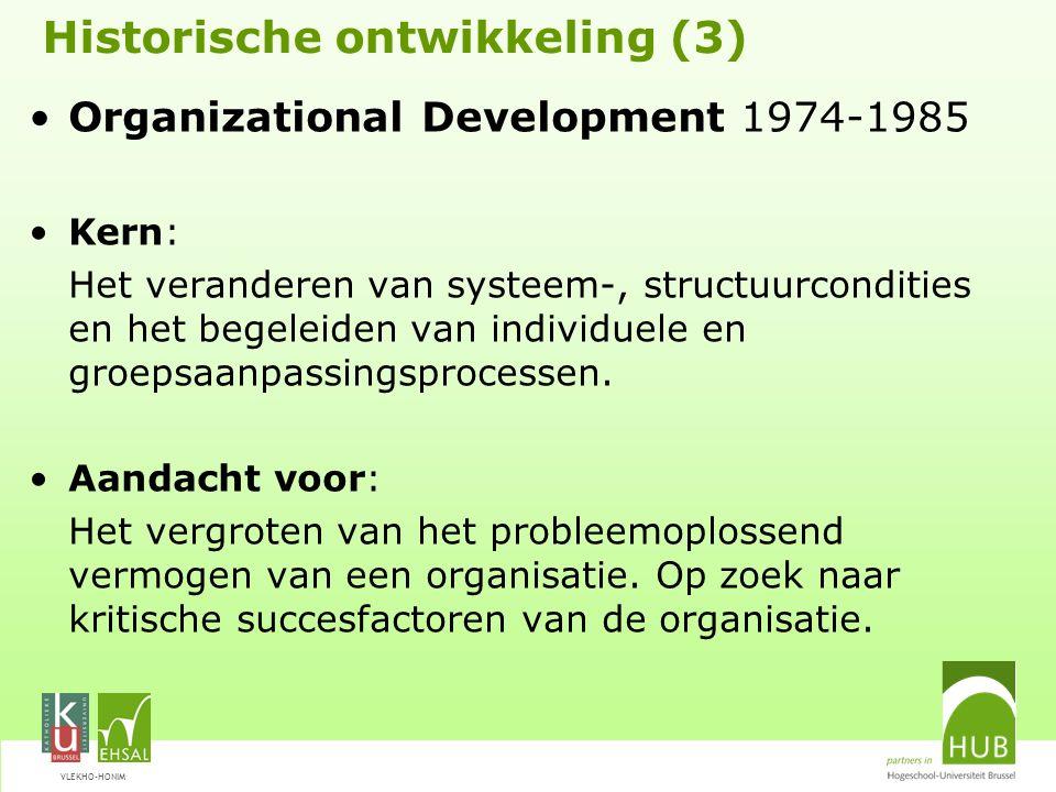 Historische ontwikkeling (3)