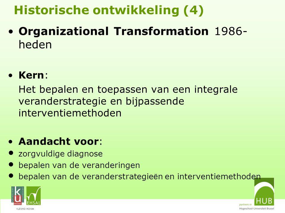 Historische ontwikkeling (4)