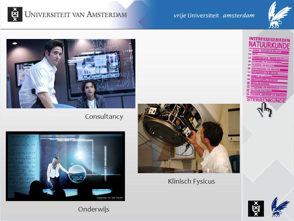 Consultancy Klinisch Fysicus Onderwijs