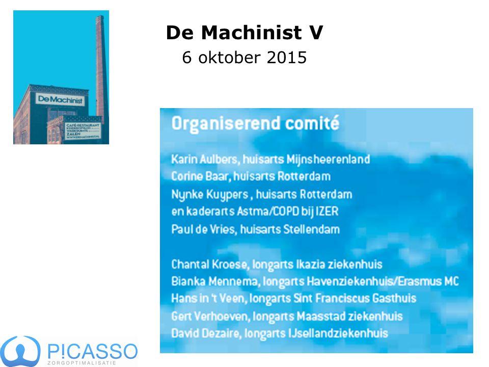 De Machinist V 6 oktober 2015